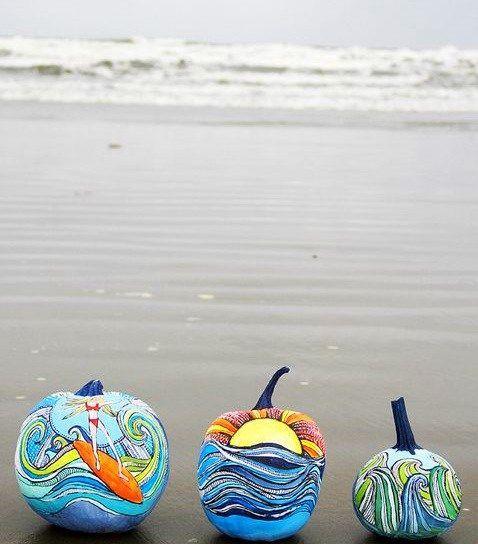 ultimate pumpkins for fall beach decor
