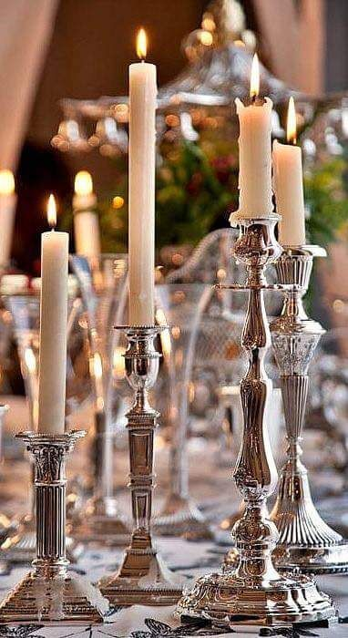 exquisite candle sticks will bring charm to any interior