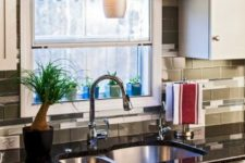 17 top curtain to add to the kitchen decor