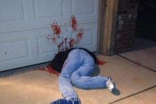 19 corpse in a garage is an easy idea to recreate and looks really natural