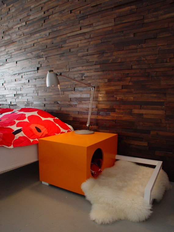 dog house that doubles as a nightstand