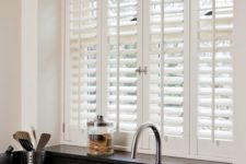 21 shutters will let light in and keep your privacy