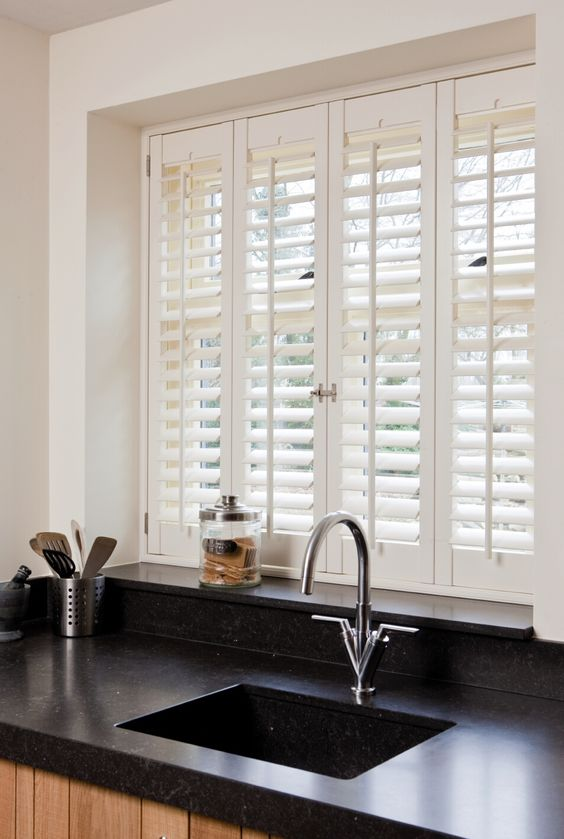 shutters will let light in and keep your privacy