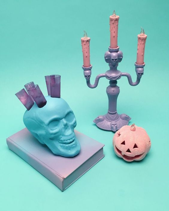 22 pastel d cor ideas for an unique halloween celebration for Pastel diy room decor