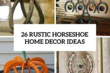 26 rustic horseshoe home decor ideas cove