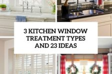 3 kitchen window treatment types and 23 ideas cover