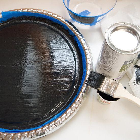 DIY classic black chalkboard paint (via www.popsugar.com)