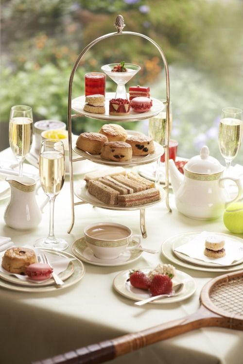 Picture of afternoon tea party tablescape for Afternoon tea decoration ideas
