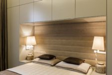 03 built-in storage cabinets are ideal for tiny bedrooms