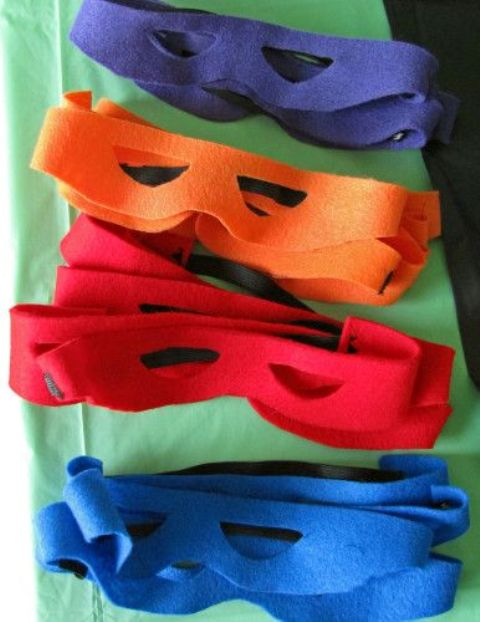 fabric masks for kids can be easily cutout by you