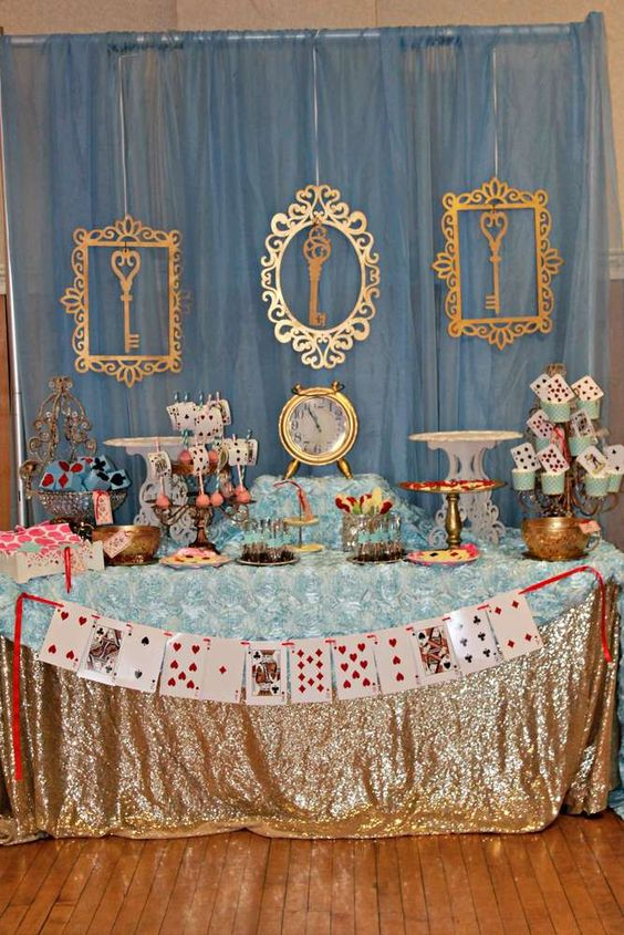 32 Kids Alice In Wonderland Party Ideas Shelterness