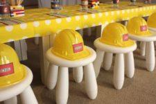 08 Lego construction party idea