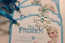 10 Frozen theme tags for some goodie bags