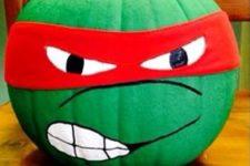 10 turn usual pumpkins into ninja turtles