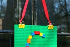11 LEGO party door decor can be suitable for various inner doors, too