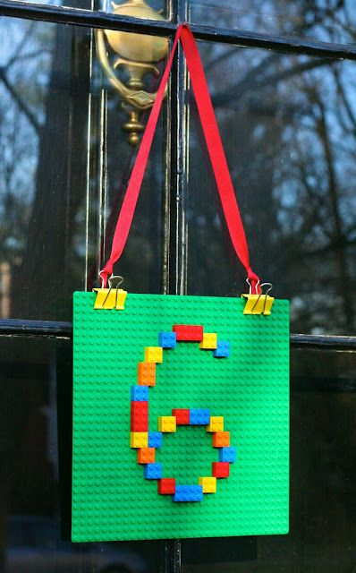 LEGO party door decor can be suitable for various inner doors, too