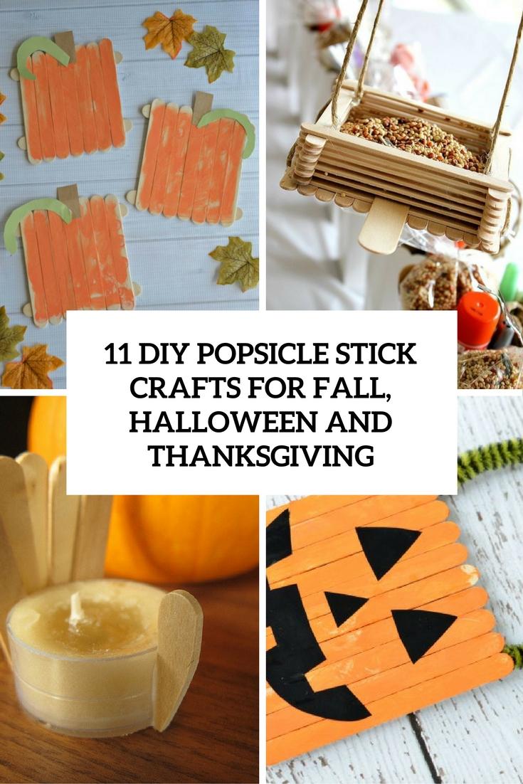 11 DIY Popsicle Stick Crafts For Holidays