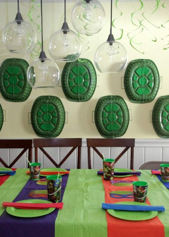 30 Cool Teenage Mutant Ninja Turtles Party Ideas Shelterness