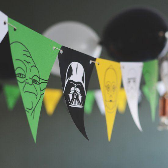 printable Star Wars garland