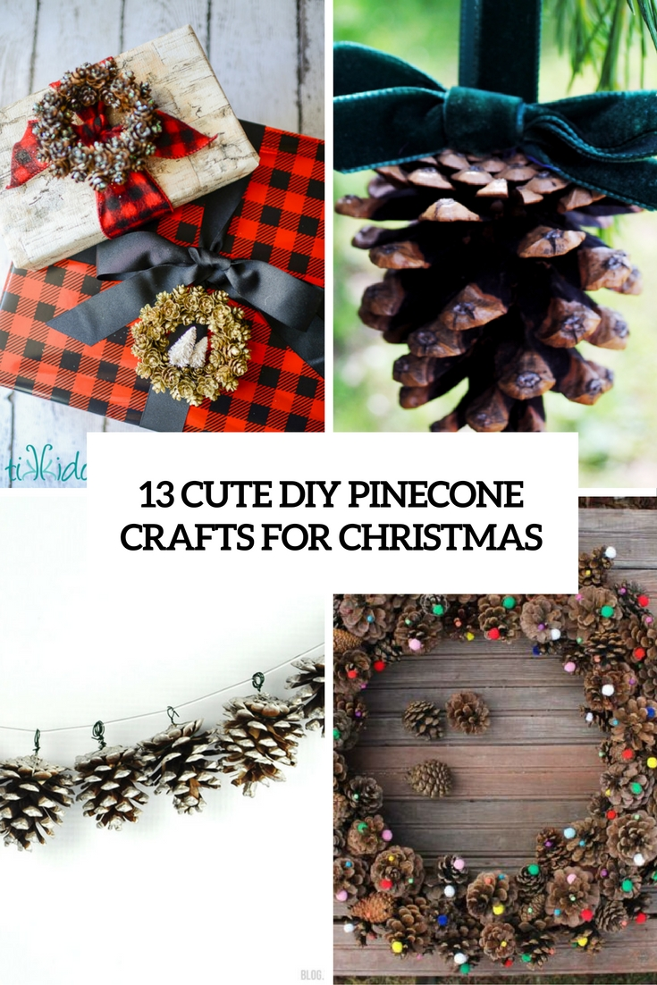 pinecone christmas crafts 13 diy pinecone crafts for shelterness 2683