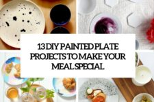 13 diy painted plate projects to make your meal special cover