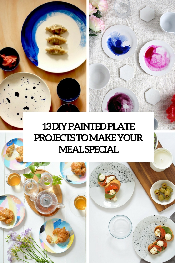 diy painted plate projects to make your meal special cover