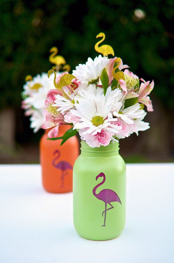 Colorful luau party decor and serving ideas shelterness