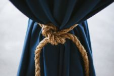 13 rope for navy tablecloths