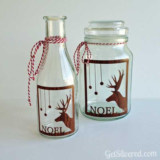 16 cutest diy christmas mason jar decorations shelterness for Christmas glass jars