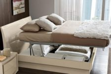 15 storage under the mattress