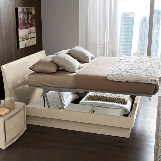 storage under the mattress