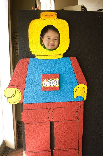 Lego photo booth for cool pics