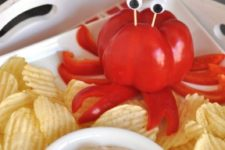 17 crab party dip idea is amazing for a kid's celebration