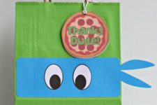 17 simple favor bags with pizza tags