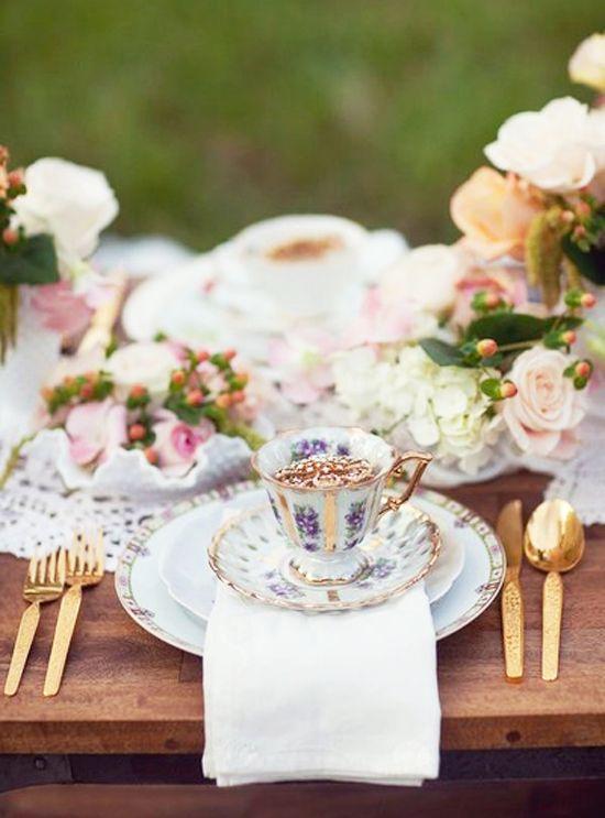 30 Vintage Tea Party Decor And Treats Ideas Shelterness