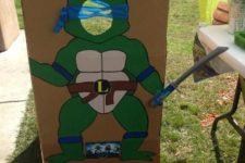 18 ninja turtle crdboard decor for taking pictures