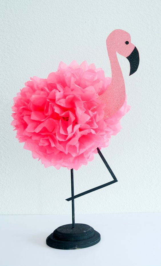 Birthday Decoration Ideas With Tissue Paper