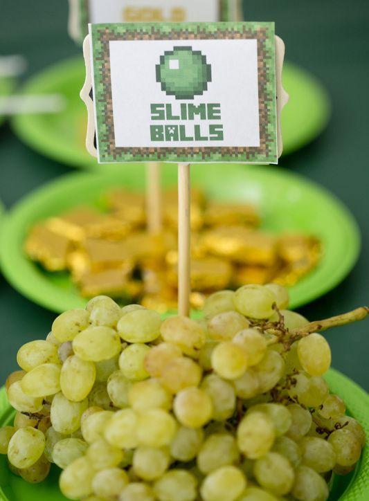 grapes for slime balls