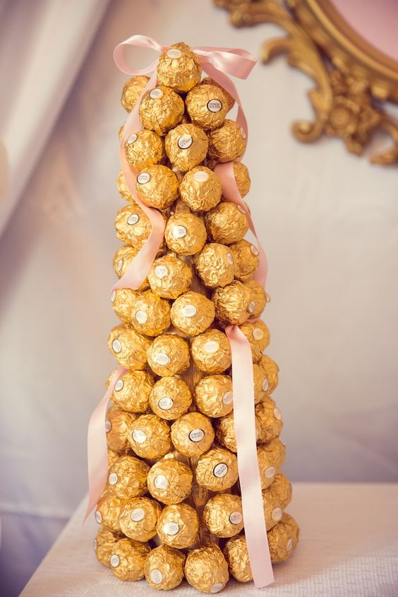 Ferrero Roche tower for a party