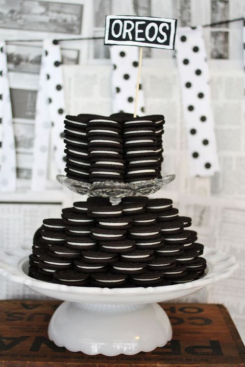 Black And White Oreos For Desserts