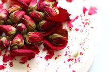 20 rose tea cheesecake for a tea party