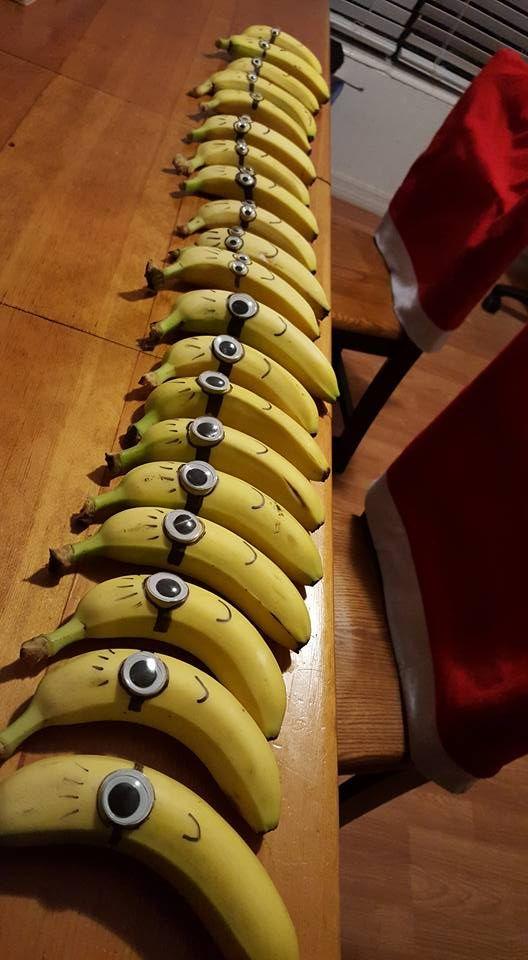 Despicable Me bananas