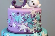 21 Frozen birthday cake for 3 years old