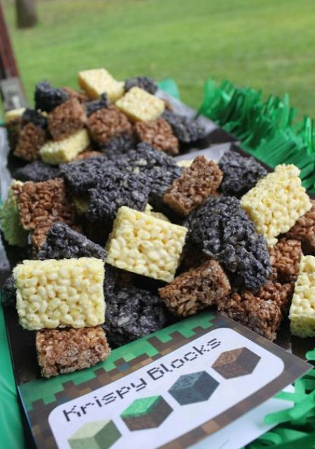 krispie rice blocks