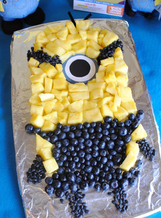 Despicable me fruit tray