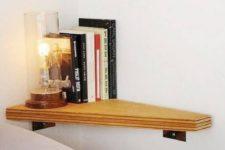 23 tiny wall-mounted nightstand