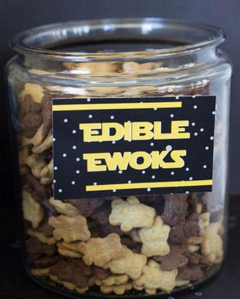 edible Ewoks crackers and cookies
