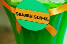 25 sewer slime drink for a ninja turtle party