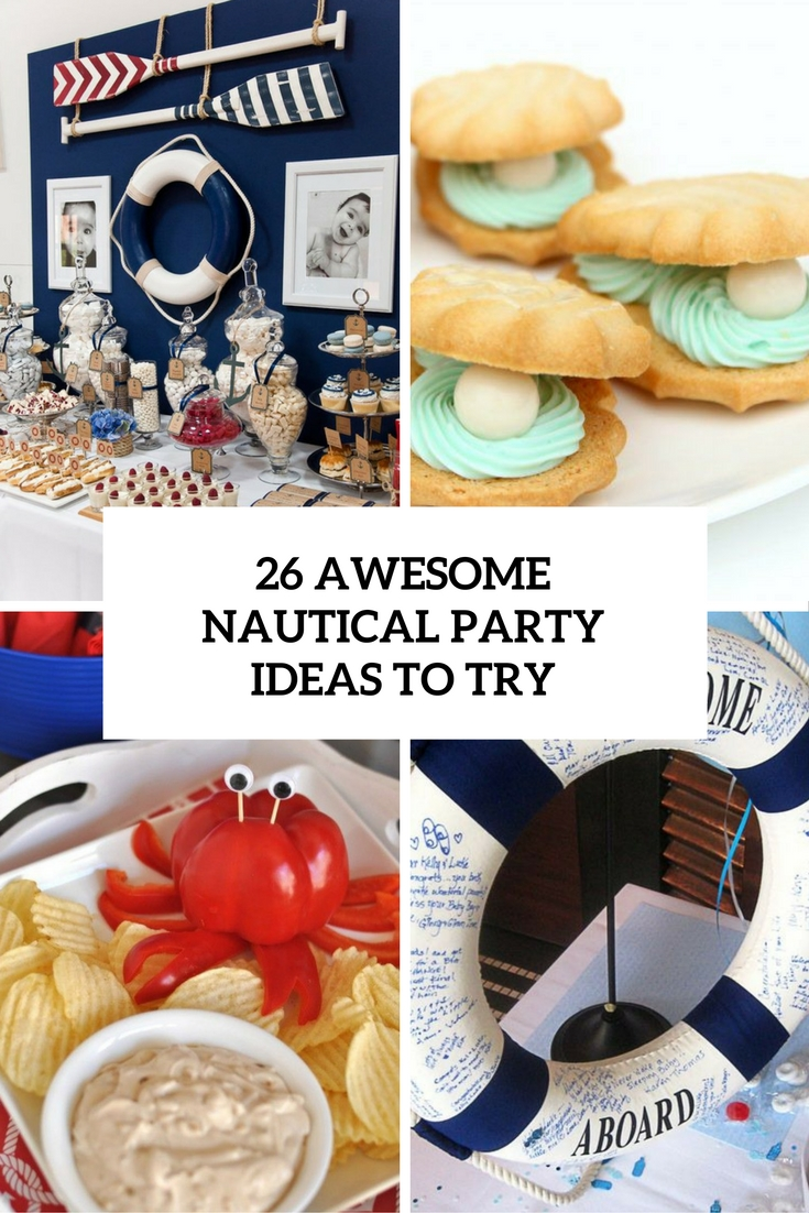 awesome nautical party ideas to try cover