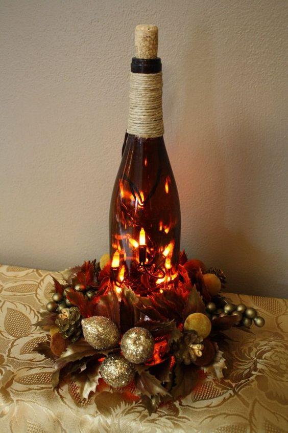 Botellas de vino en miniatura vintage